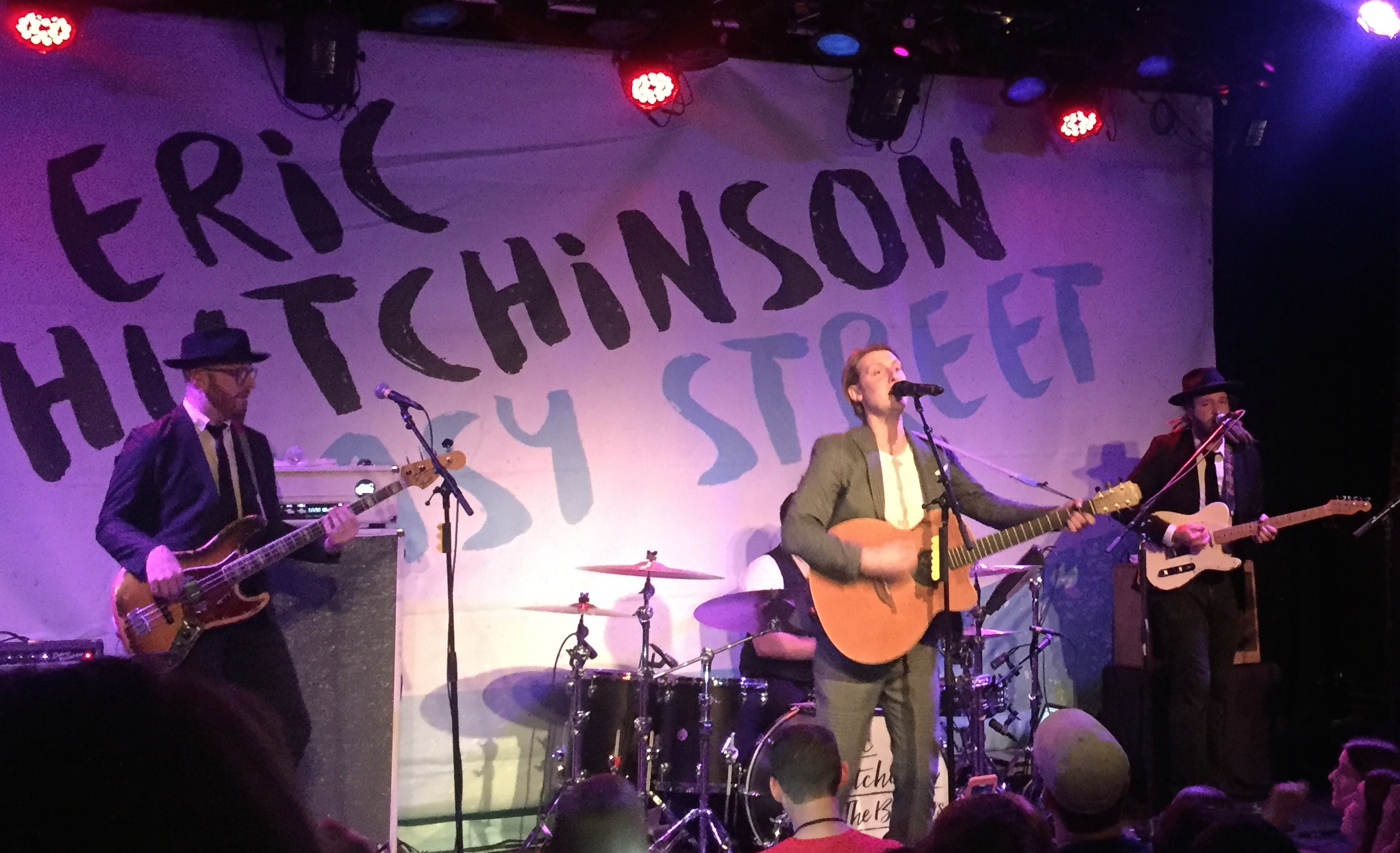 Eric Hutchinson in Orlando - final week of his  Anyone Who Knows Me  tour.