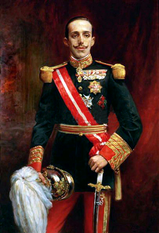 Spanish King Alfonozo XII - Photo from http://madmonarchist.blogspot.com