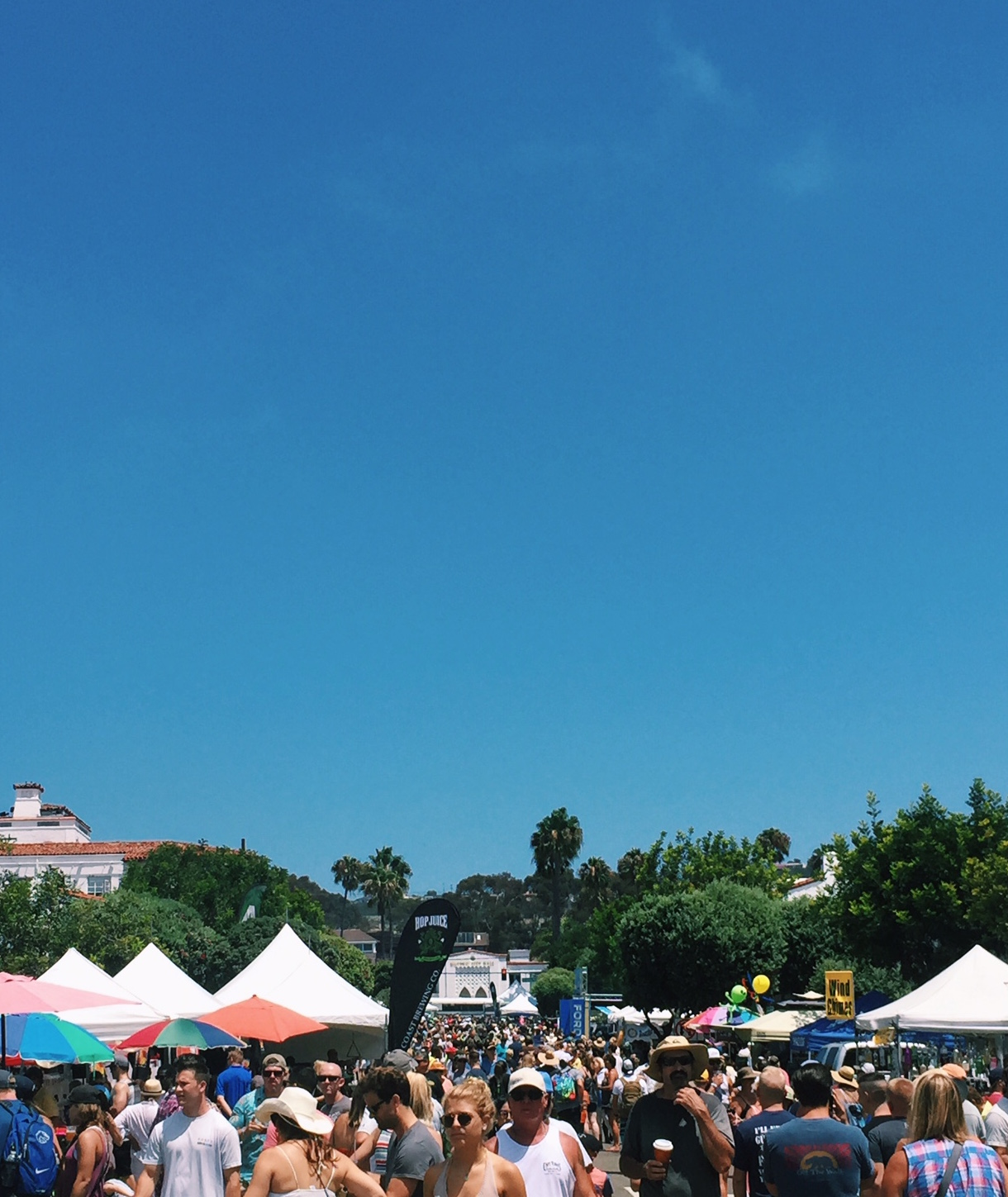 The Fiesta Festival was packed with all sorts of fun booths, food challenges, music, and just about everything else!