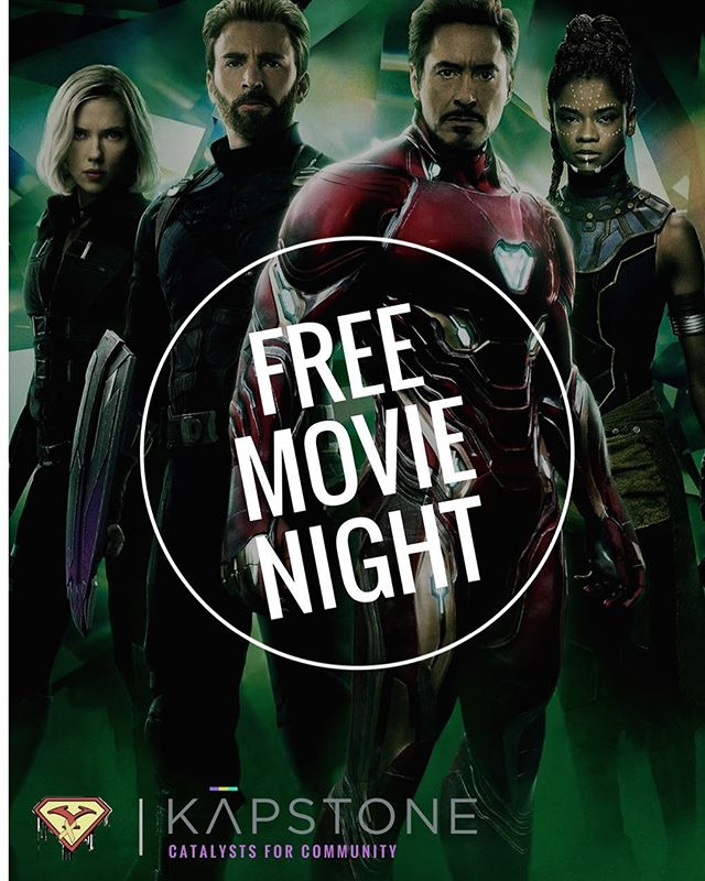 Tonight's the night! The event begins at 7pm at the AMC Marina Pacifica theater in Long Beach (movie starts at 7:30pm). Tremendous thanks to everyone that donated to make it happen! Together with @afuturesuperhero, we're thrilled to be able to welcome 90+ kids and families for a free movie showing, popcorn, prize raffles, and more! . #avengers #infinitywar #movienight #avengersinfinitywar #community #kapstone #free #movie #popcorn #prizes #superheroes #communityevent #kids #longbeach