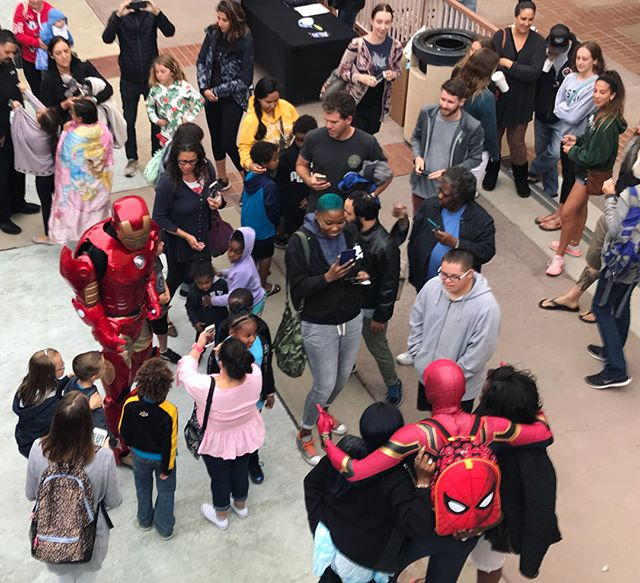 Thank you to everyone that supported the #Avengers movie night! Last night was a tremendous success. Great seeing Spider-Man, Iron Man, and so many smiling kids. We love our community, and feel rejuvenated every time we get to connect and find kinship with others. .  Sincere thanks to everyone that donated and supported the endeavor. Stay tuned for details on the next event! . #community #kapstone #kinship #movienight #avengersinfinitywar #communityevent #spiderman #ironman #superheroes #kids #longbeach #kapcommunity #catalystforcommunity