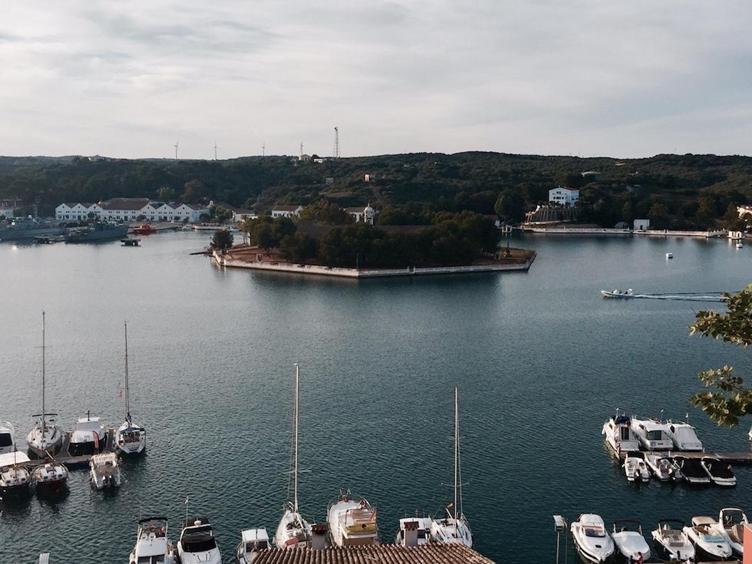 Mahon harbor