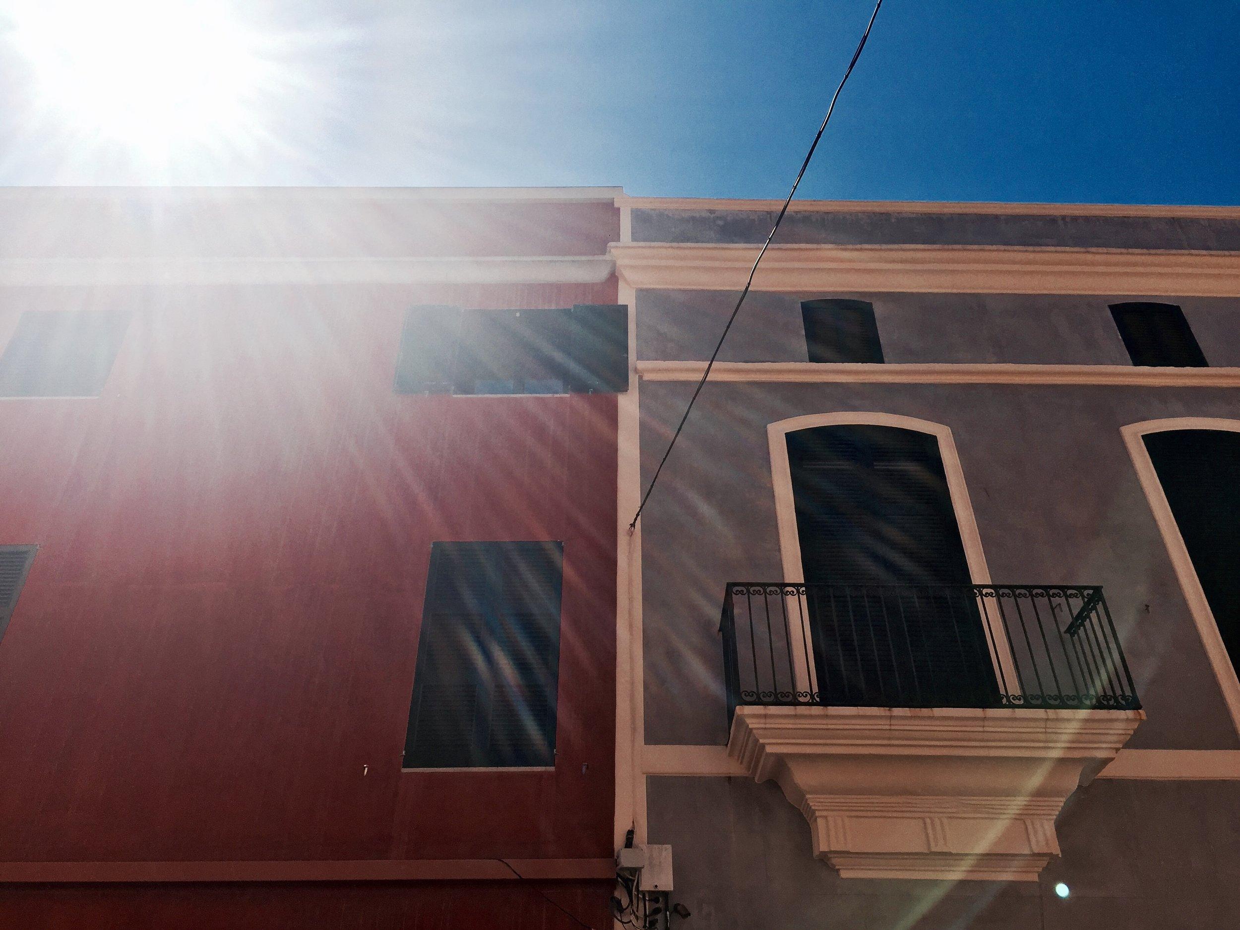 The colorful streets of Ciutadella