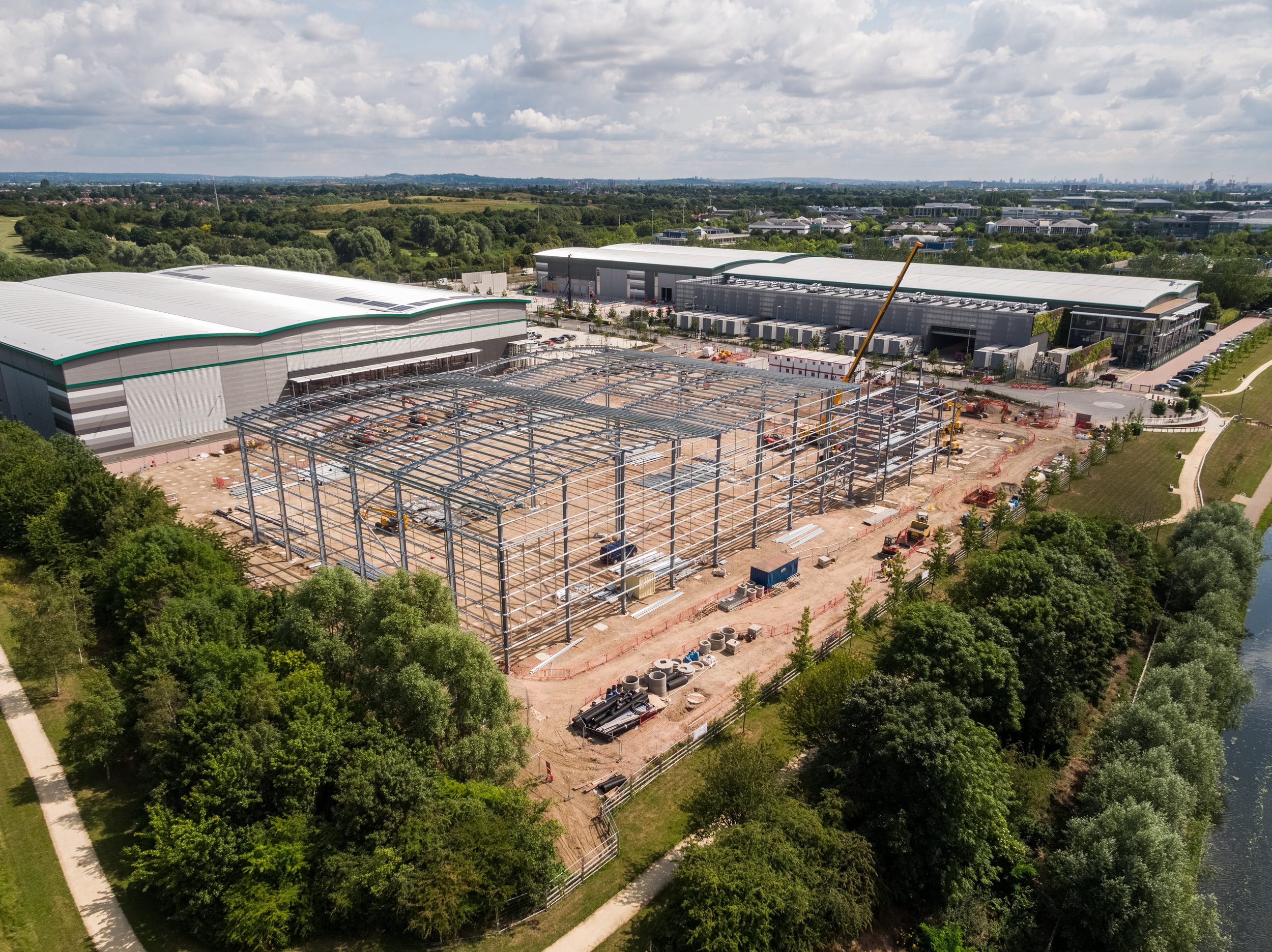 50m Prologis Park, Phase 2 - Readie Constuction - by DroneScope - 03.jpg