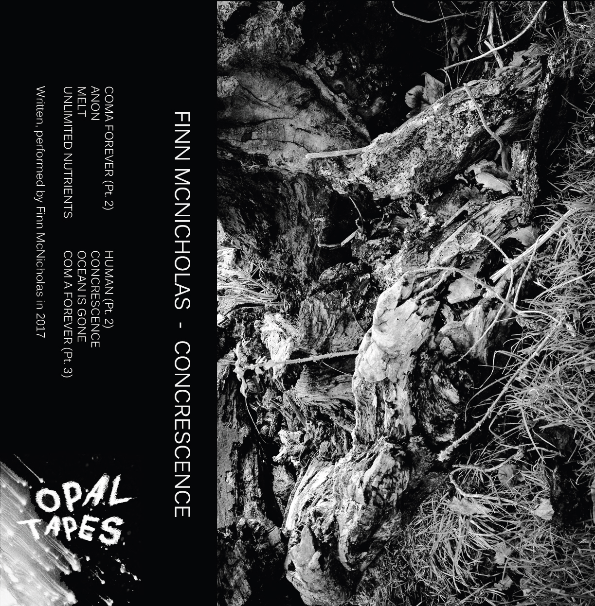 Finn McNicholas - Concrescence EP  21st April 2017  Opal Tapes