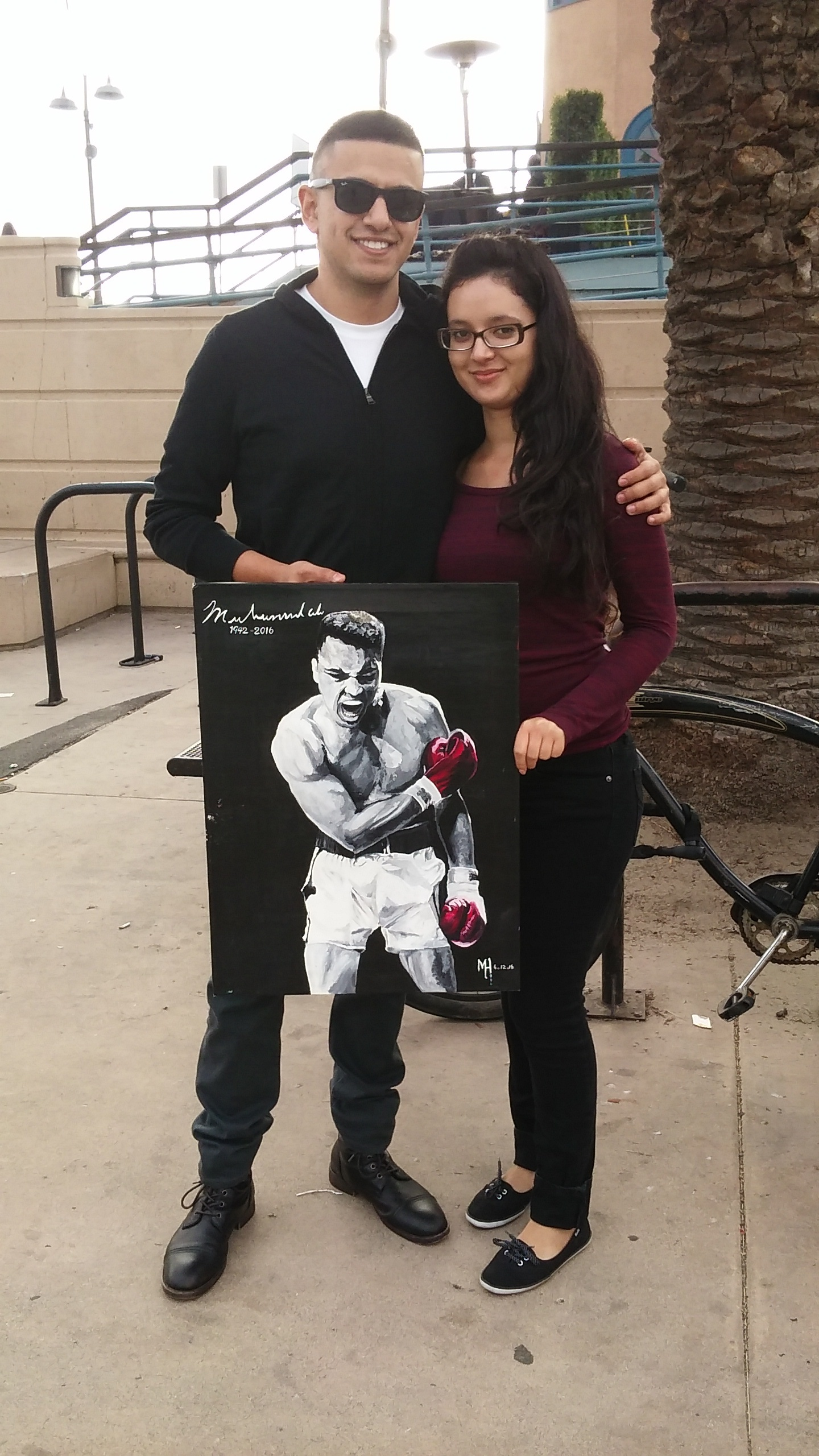 """The World's Greatest Fighter"" feature #MuhammadAli was SOLD to this couple."