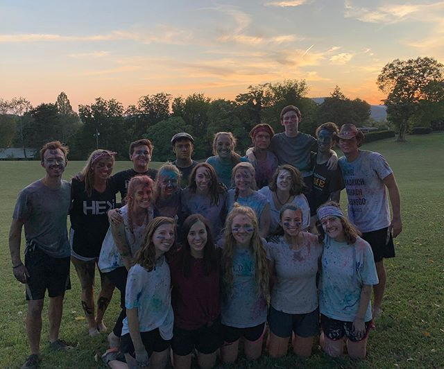 Tonight we filmed the 2019 Worldview Fellows video. We had so much fun doing a paint war. There's nothing like slinging powder and paint onto each other to grow friendships! Be sure to watch for our promo video coming soon!
