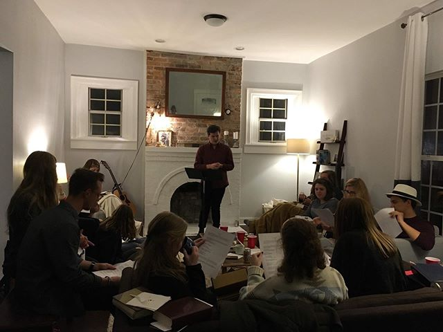 A few weeks ago we had our first meal night. This is a time where we slow down as a team and instead of having class, take time to eat together. A team member usually shares a devotion or a reading and then we pause to worship together. This past time we were so thankful to have @zacharyportillo share with us.  In this season, as life tends to get busier, we encourage you seek the slower rhythms of life. Maybe that doesn't look like a meal night for you. But as we learn to do this, we encourage you to seek out times to hit pause on the busyness and engage in the present moment by being still.