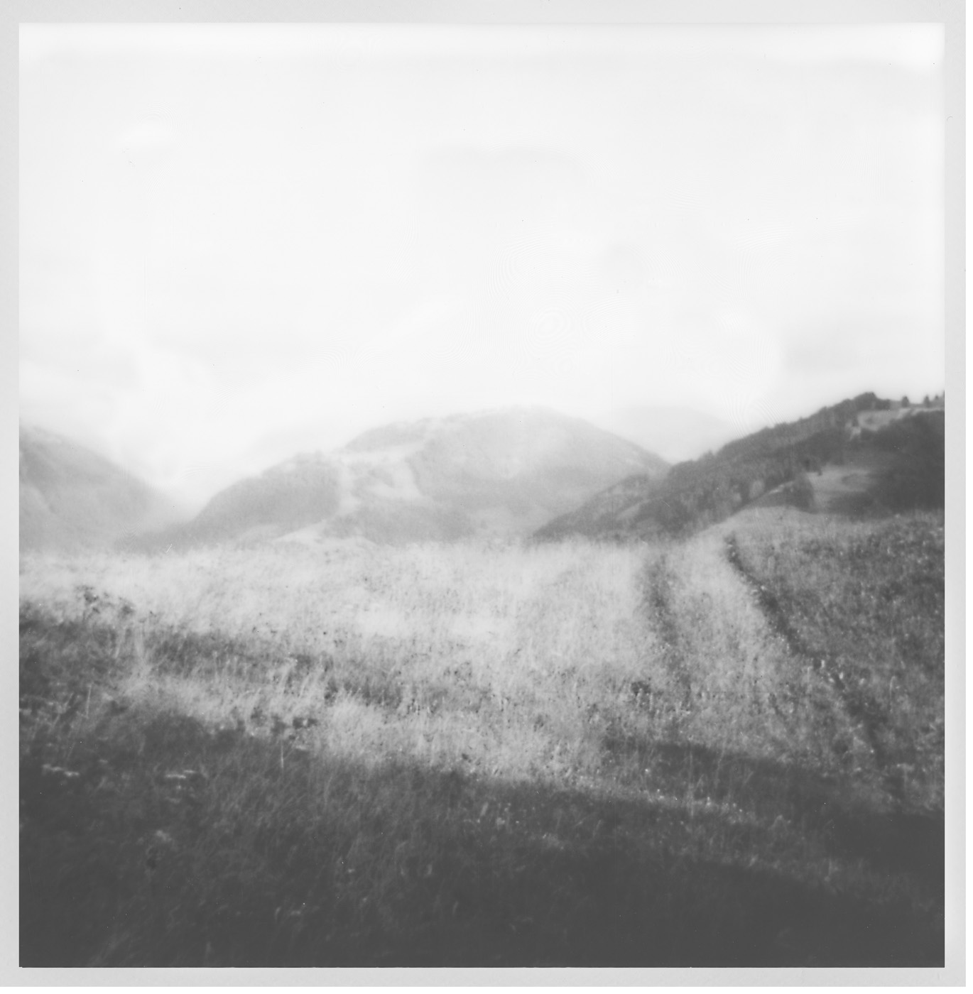 "High Places Series. 2016-2018. Archival Pigment Print. 6"" x 6"""