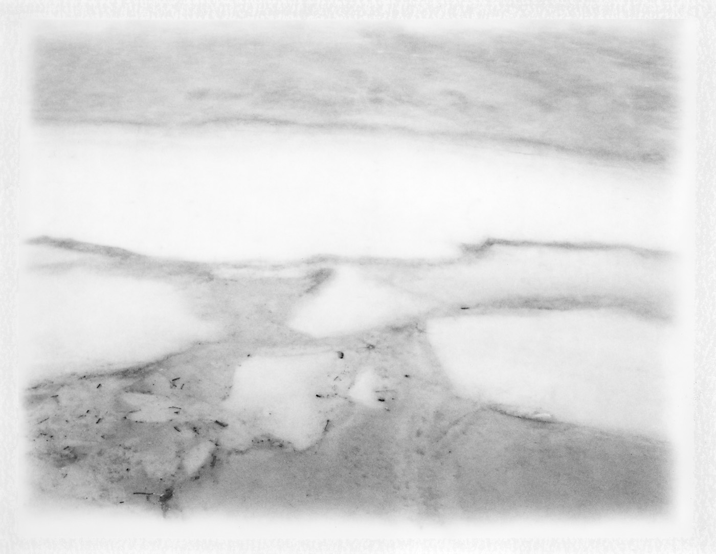 "Ice Melting Series. 2018. Archival Pigment Print. 10"" x 13"""