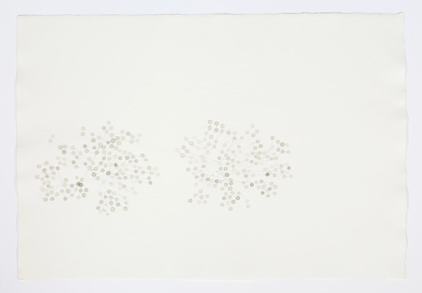 "For Félix González-Torres. 2011. Ink on paper. 11"" x 17"""