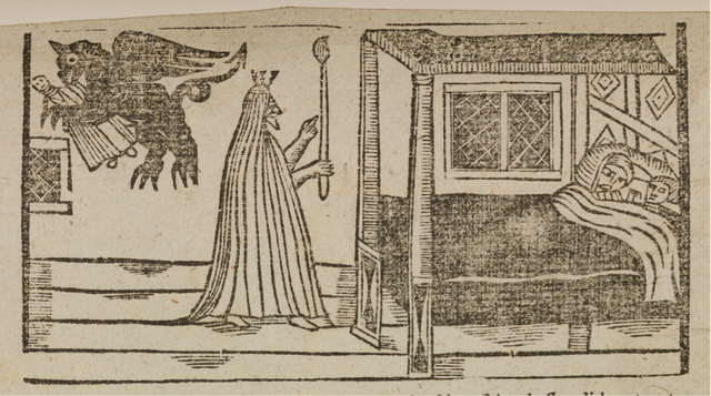 'Young Bateman's ghost, or, a godly warning to all maidens', London, 1760, the Lewis Walpole Library, Yale University