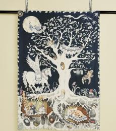 Enchanted forest duvet set for kids