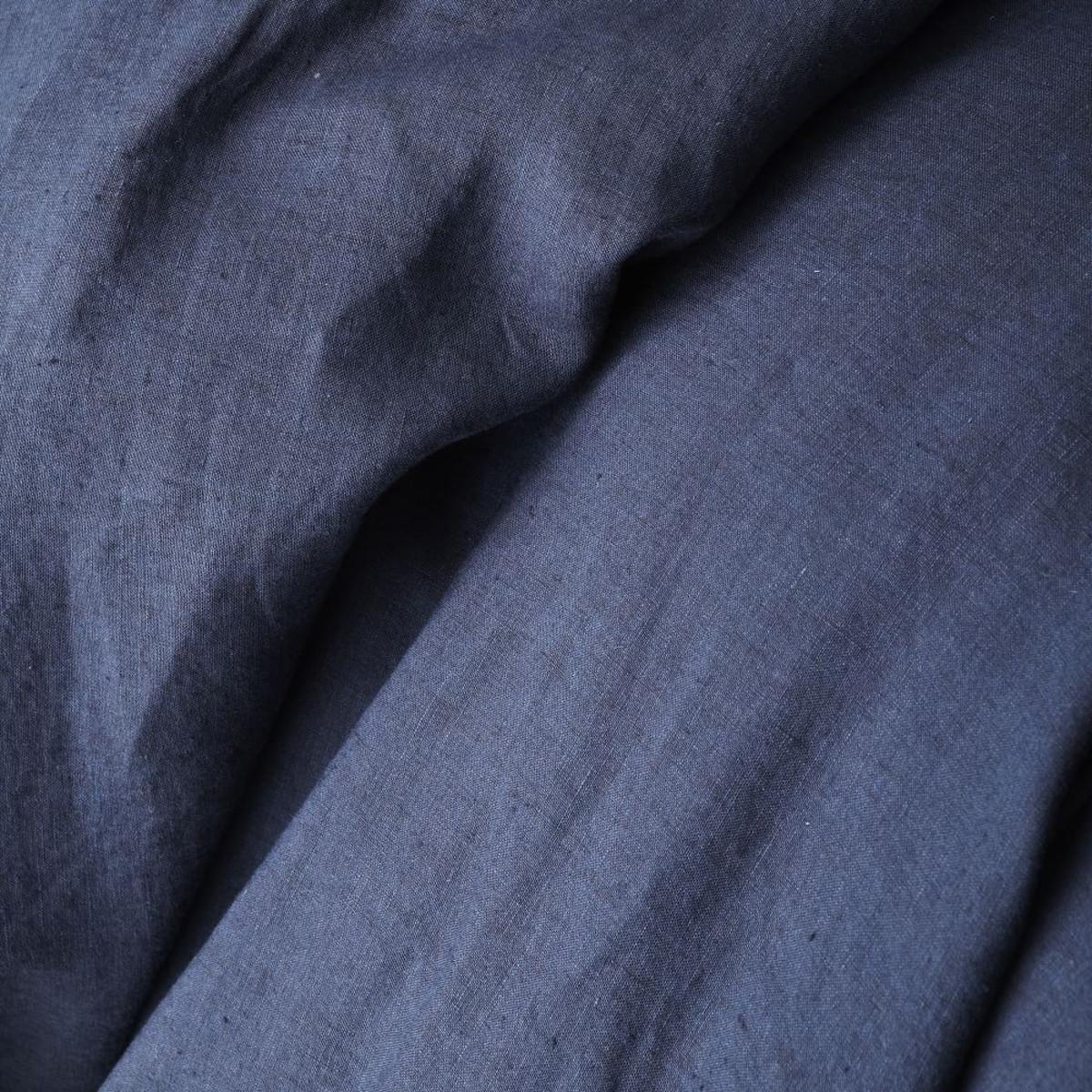 Black flax linen may comfort