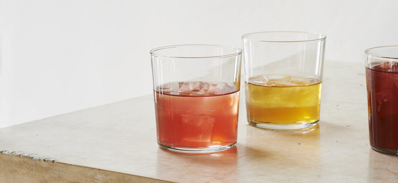 Pretty tasty (literally) - yummy drinks beautifully presented by Raw Duck