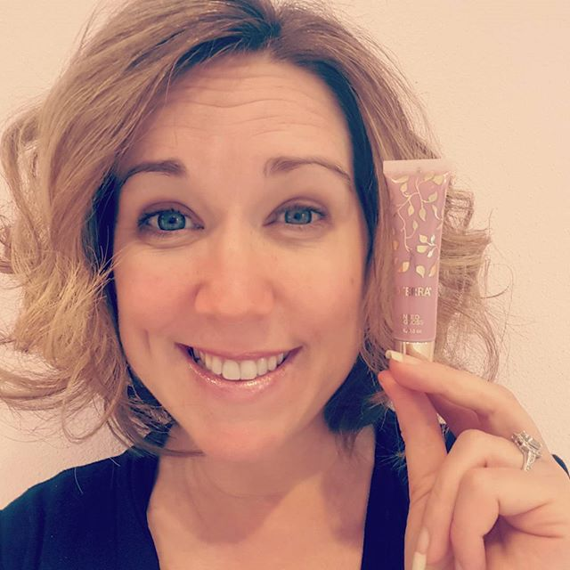 I'm really loving this #doterra #tintedlipgloss! #shimmery #holidayitems