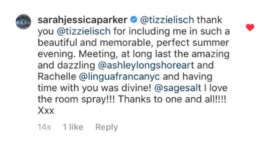 Sarah Jessica Parker Sage and Salt Spray