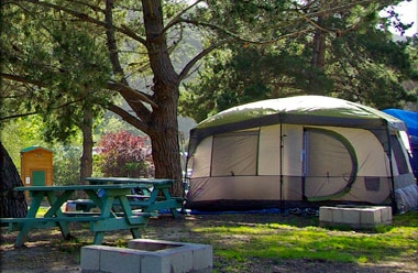 TENTS AND RV CAMPING