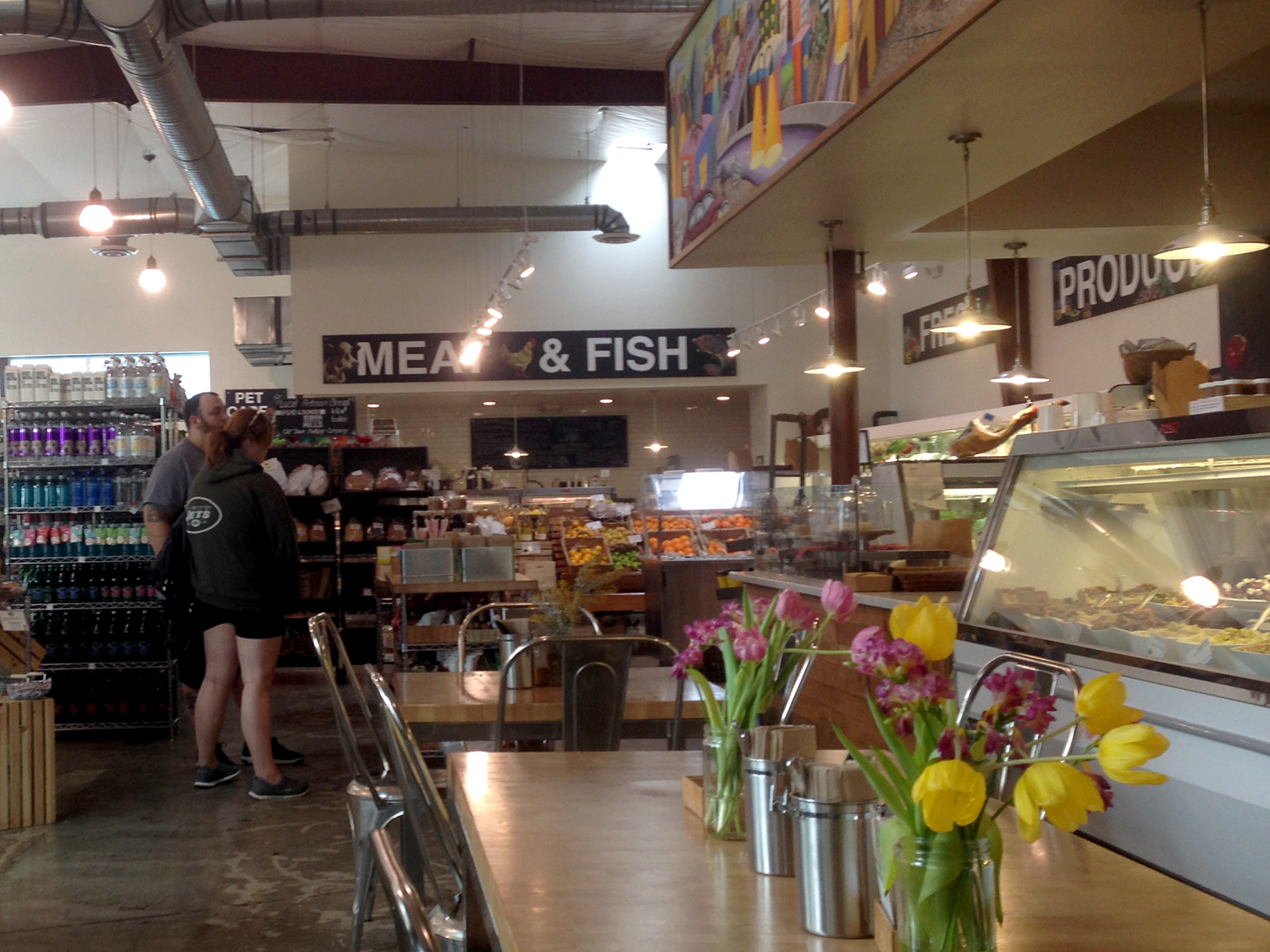 Inside Urban Radish, an eco-conscious grocery store