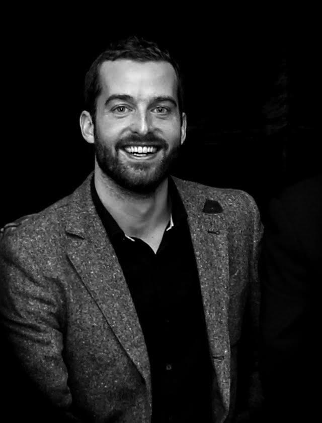 Black and white image of Michael Hull, CFO