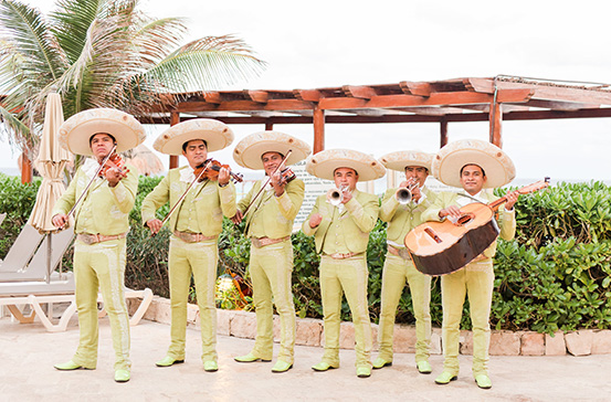 Mariachi Band at Pool Scouts Convention in Cancun, Mexico