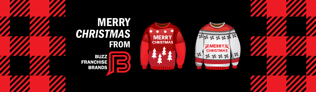 Deck the Office Halls with tacky sweaters and flannel pattern