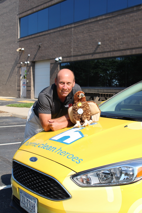 June's Employee of the Month Joe with Buzzy
