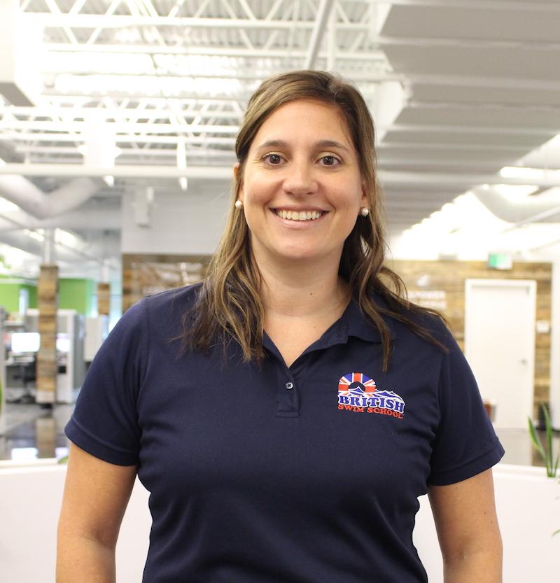 Melissa McGarvey, British Swim School Director of Aquatics
