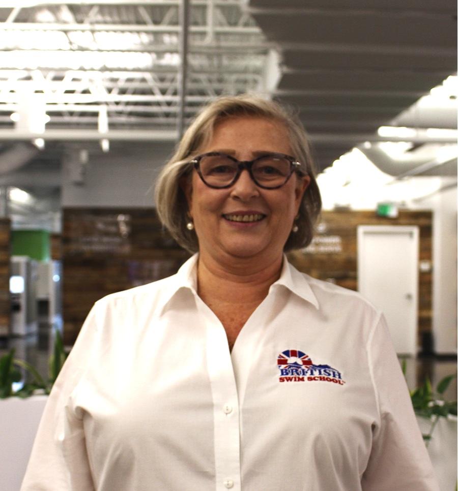 Susan Berger, British Swim School Director of Learning