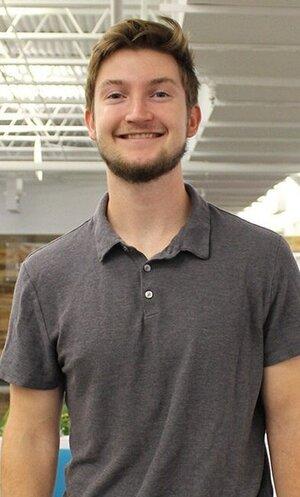 BFB intern James smiling