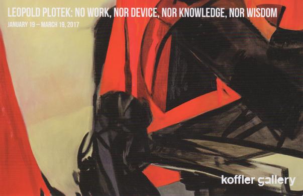 Koffler Gallery, Toronto, Canada, 2017 (solo)