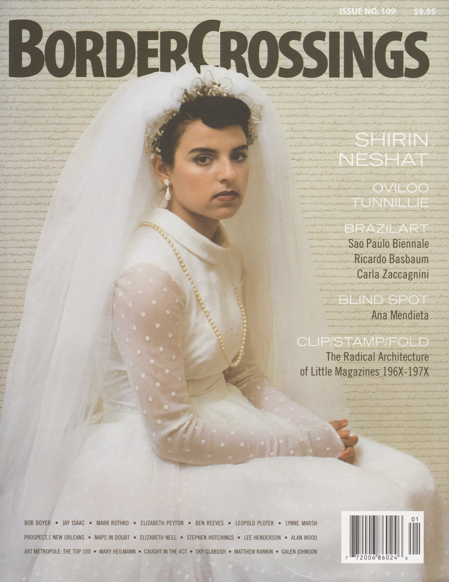 BorderCrossings Magazine , Volume 28, No 1, Issue No. 109, 2009