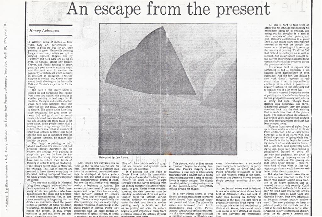 Montreal Star Saturday, April 28, 1979