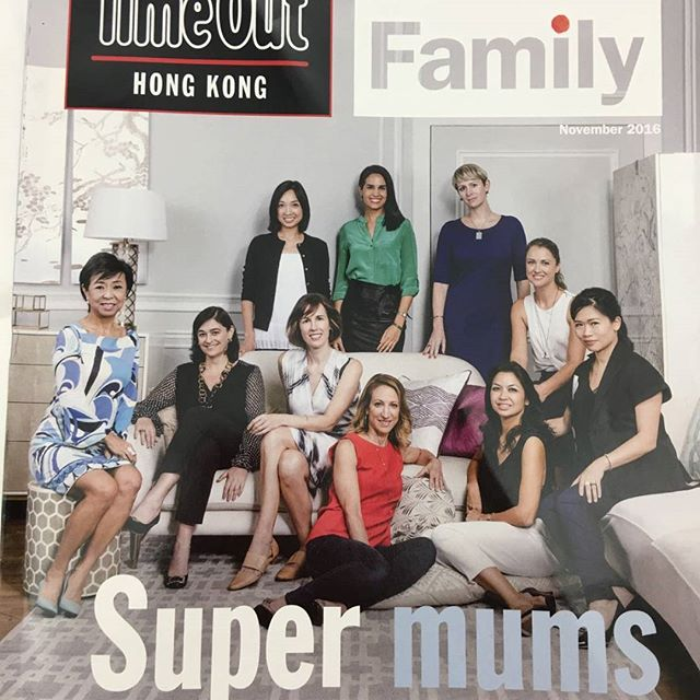 Our Founder and Managing Director Rumiko Hasegawa is in Time Out as one of Hong Kong's Super mums!