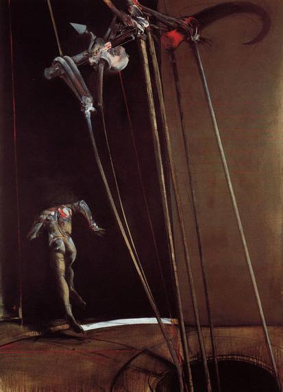 Vladimir Velickovic, Crochet fig. XXXV, 1991