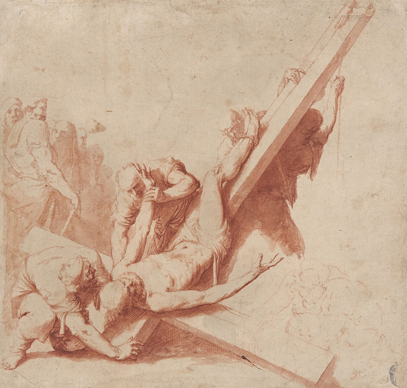 José de Ribera, Martyrdom of St. Peter.   PLACEMENTS: CHEST & ABS |