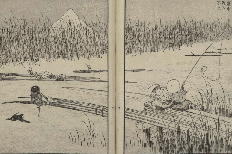 Hokusai, One Hundred Views of Mount Fuji