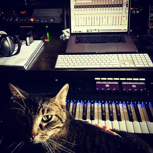 My co-producer.