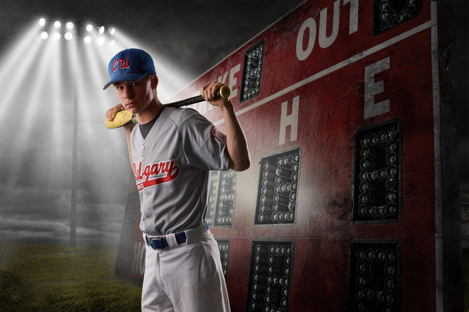 Custom Posters - The Ultimate in Sports Portraits We will shot in our portable studio and produce an amazing poster of your athlete.