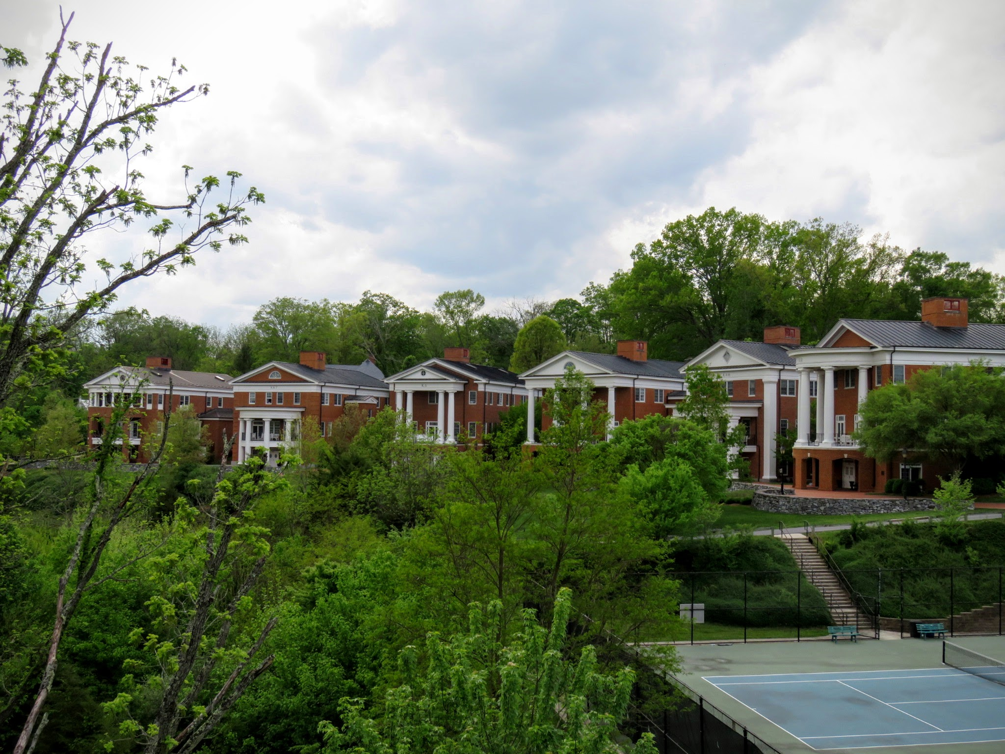 Sorority Row, where Formal Rush takes place for women every year
