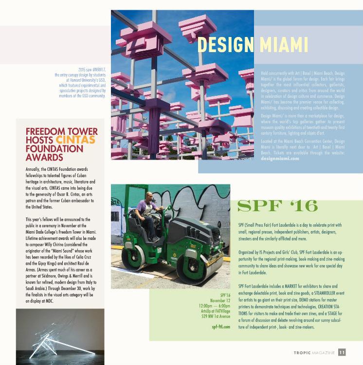 Tropic Magazine - October 2016