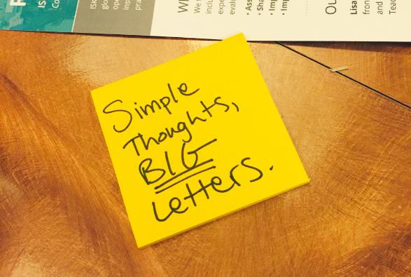 Design thinking, summarized.