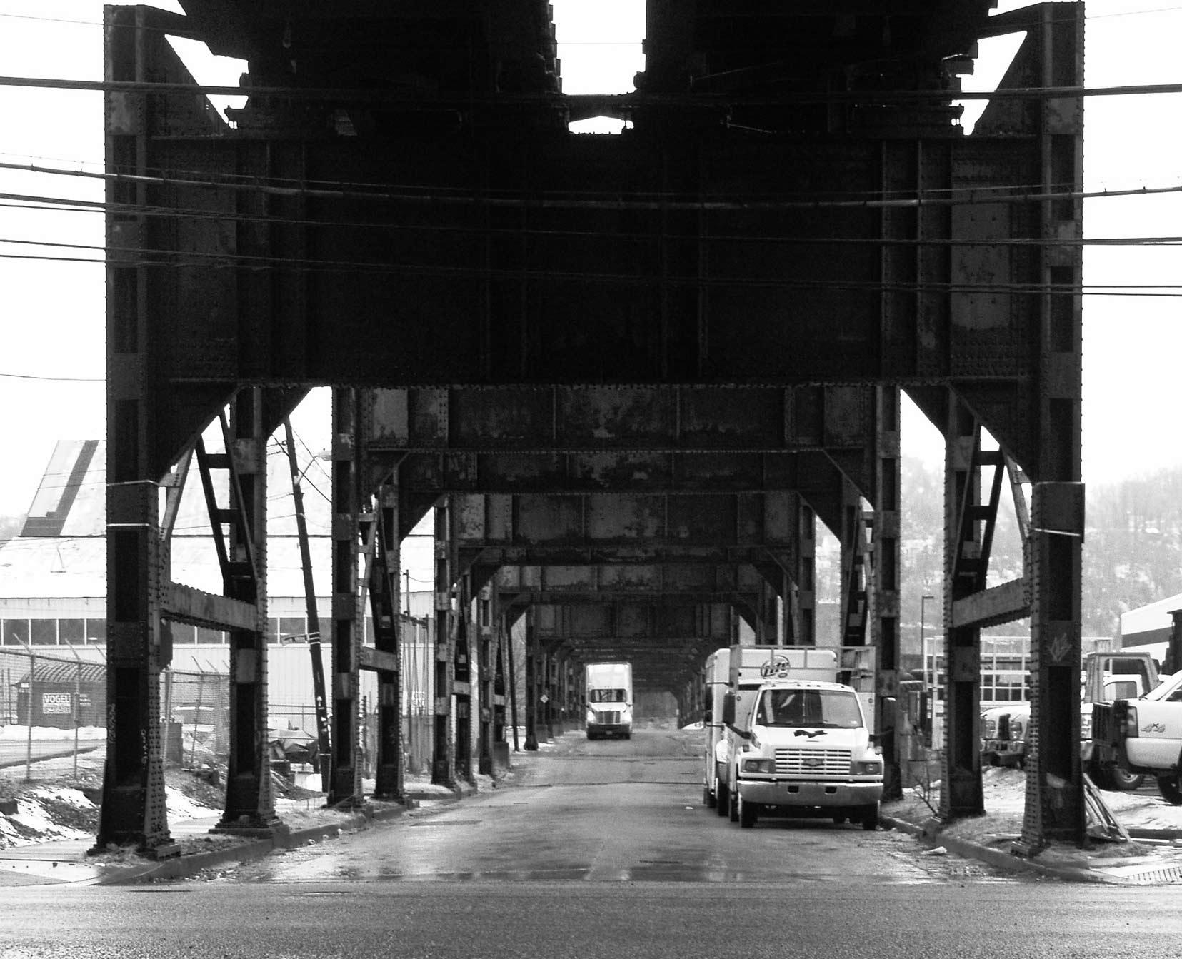Beneath the 33rd Street Bridge /  photo: public domain