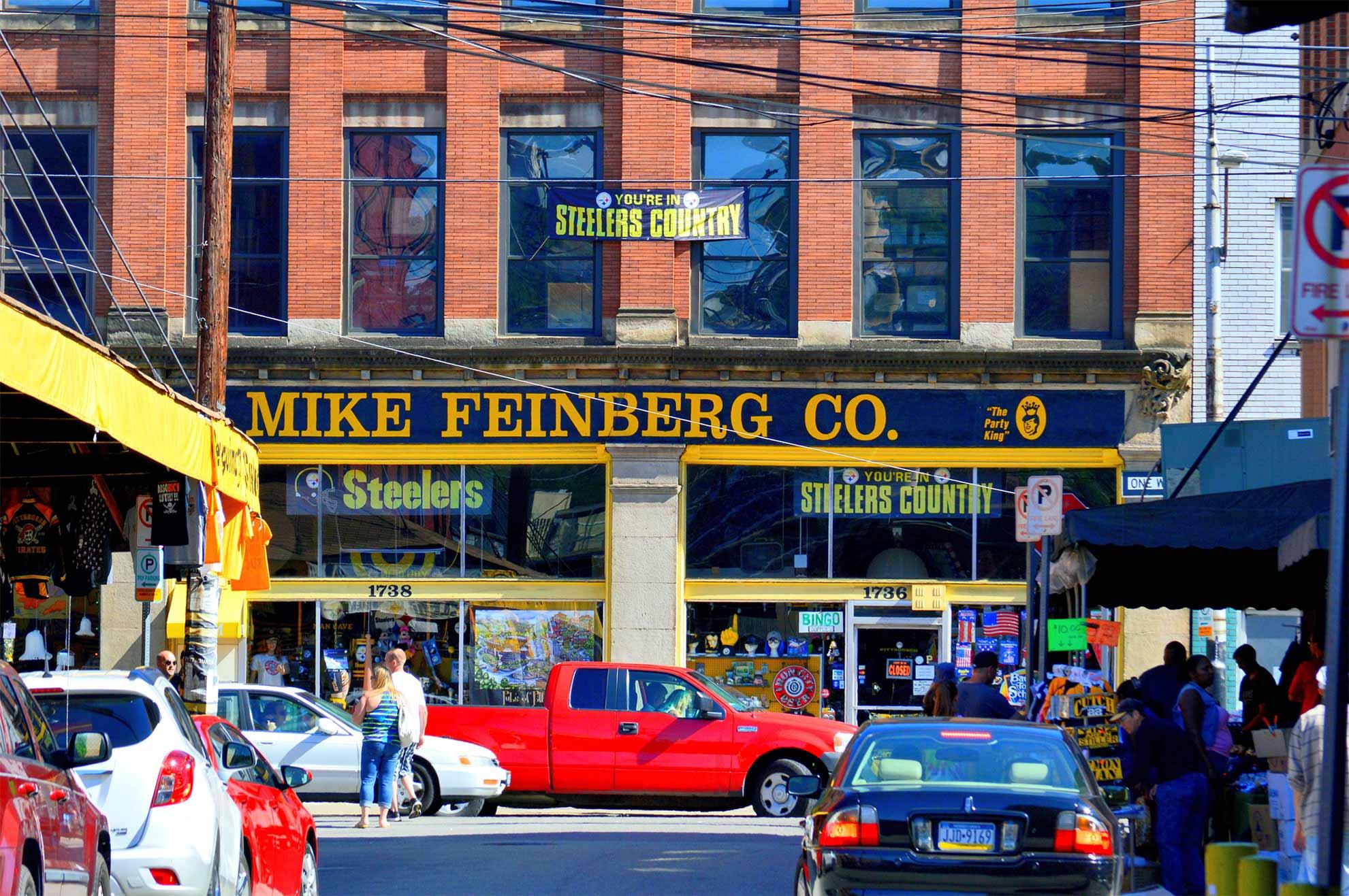 Penn Avenue in the Strip / photo: Ehren Zaun , used with permission.