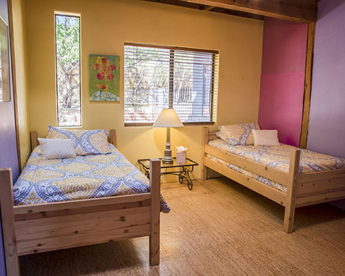 Garden Room - Two Twin Beds, Shared BathroomDouble OccupancyEarly Bird: $1685 per personAfter June 30th: $1850 per person