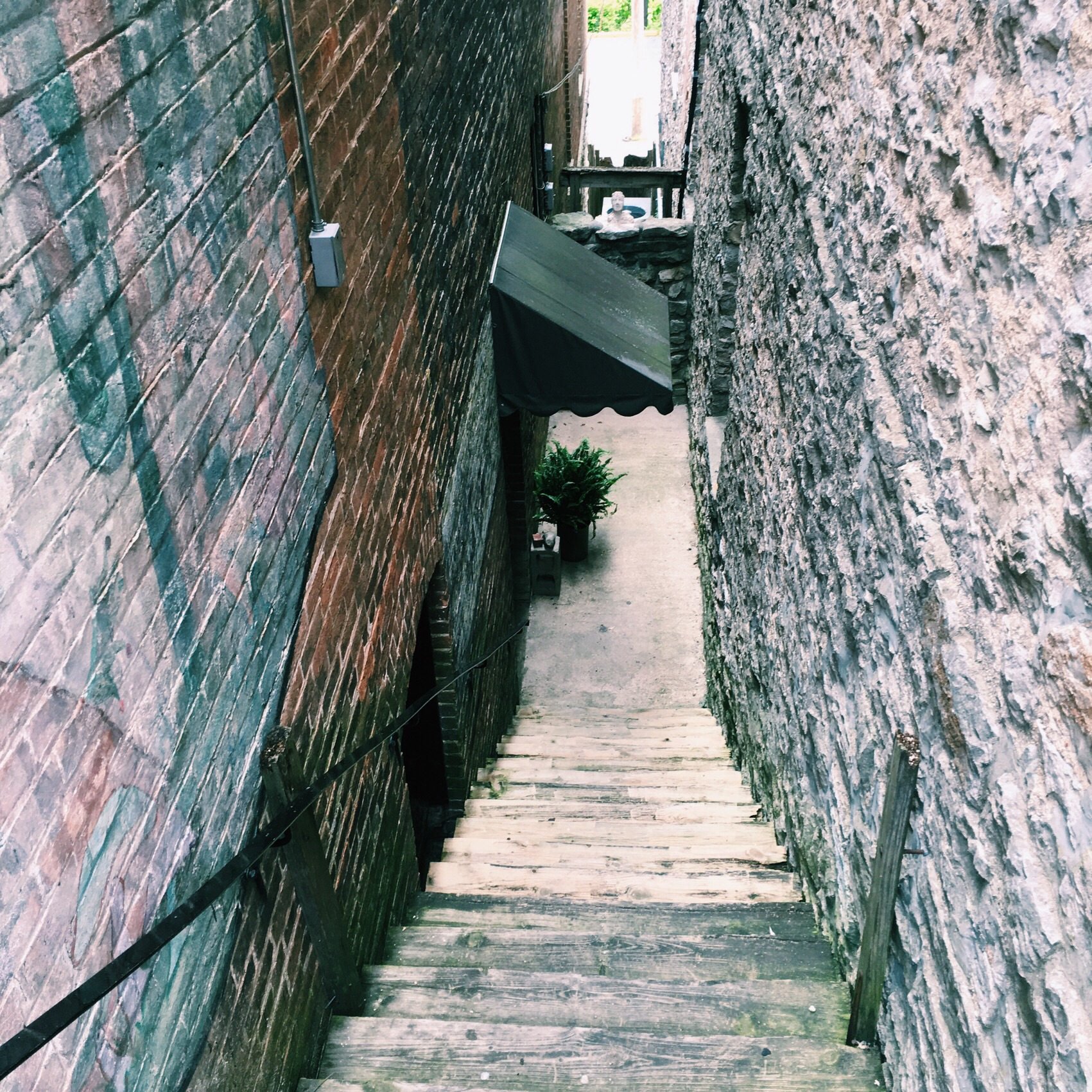 Alleys are my favorite. Because: mystery and intrigue.