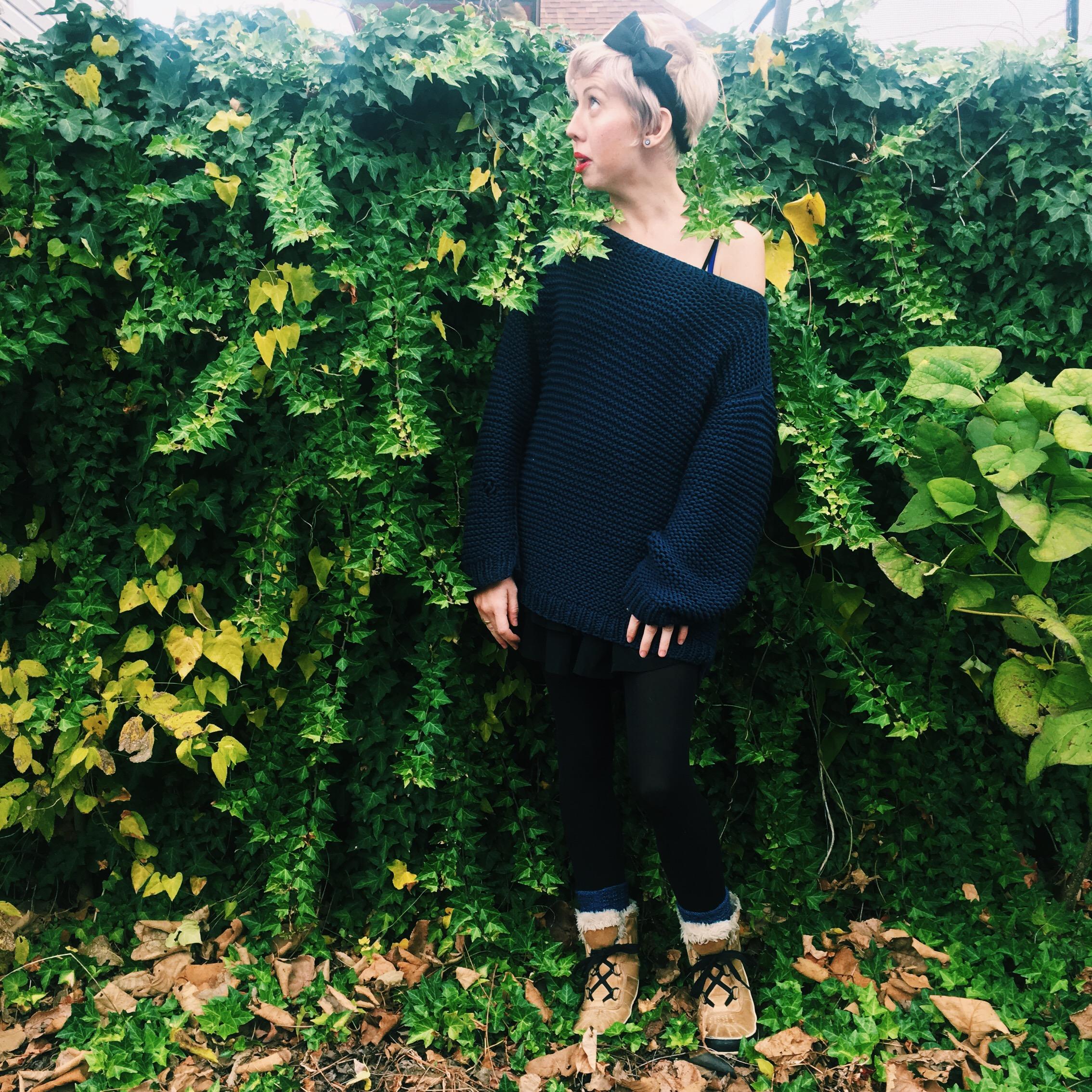 oversized sweater chunky yarn eat me blog