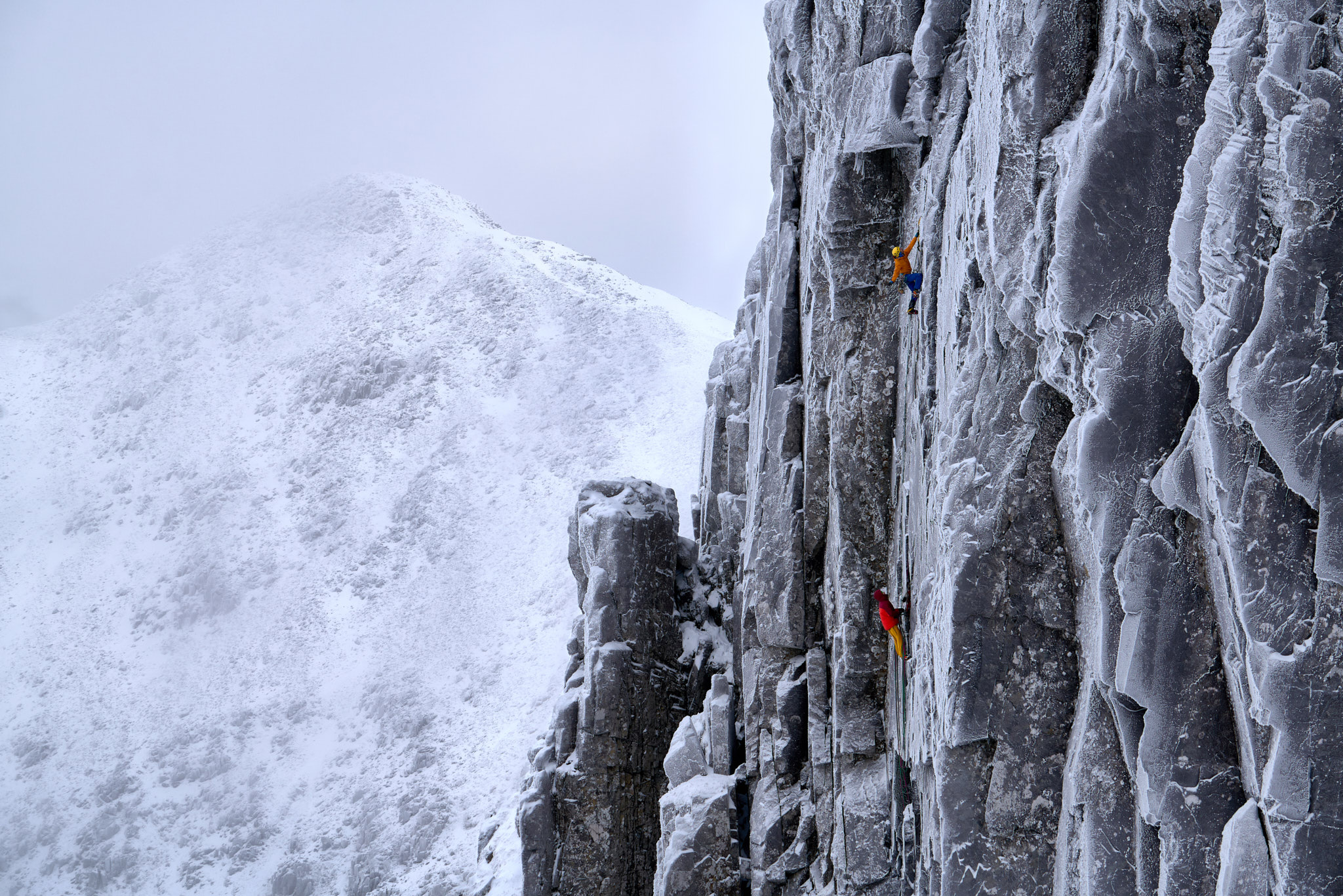 Guy Robertson leading the third pitch of 'Lost Arrow Winter Variation' (X/10)