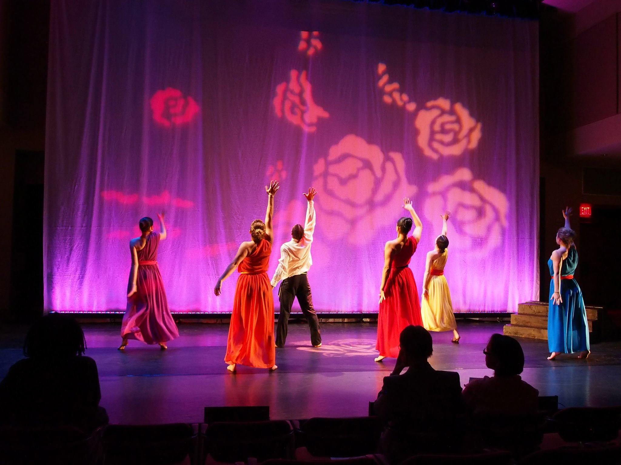 "Photo Credits: ""POEMAS"" with the Latin Ballet of Virginia - choreography, lighting, and set design by Ana Patricia Nuckols."