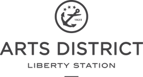 ARTS DISTRICT Liberty Station - Logo (Primary Grey).png